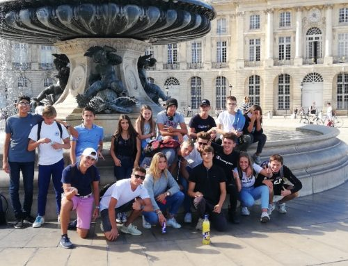 Stage de vacances – Place de la Bourse à Bordeaux